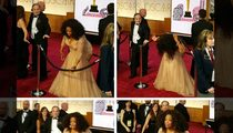 Oprah Winfrey -- Watch Me Do the Limbo at the Oscars! (PHOTO)