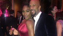 Serena Williams & Common -- BACK TOGETHER?? ... Exes Hang at Post-Oscar Bash