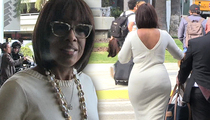 Gayle King -- Packing Something Extra in the Back (TMZ TV)