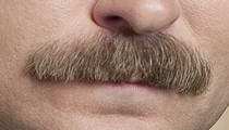 "30 Dirty Ron Swanson Mustache Pics To Give ""Parks and Recreation"" A Prickly Kiss Goodbye"