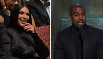 Kanye West -- I Ain't Saying Kim's a Gold Digger ... But the Black Thing Is Real