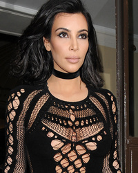 Kim Kardashian Shows Crazy Cleavage At 2015 BRIT Awards -- See Her Wild Look!