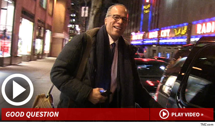 Lester Holt Gets The Game He Answered Our Photogs Goofy Question