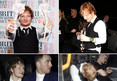 Ed Sheeran -- Album of the Year Leads to Night of His Life (PHOTOS)