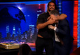 WWE's Seth Rollins -- HEADLOCKS JON STEWART ... On &#039