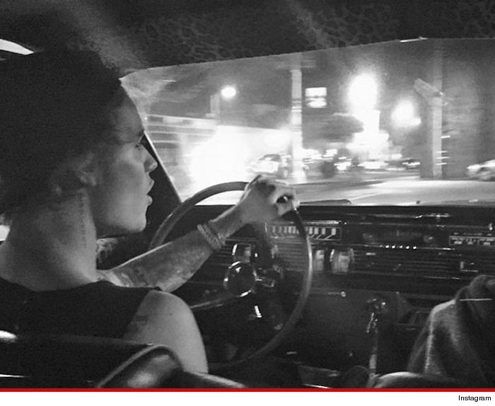 Justin Bieber New Car