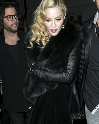 "Madonna Wears Huge Platform Shoes After Suffering ""Whiplash"" From Brit Awards Fall"
