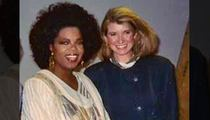 Martha Stewart -- Throws Oprah Under the #TBT Bus