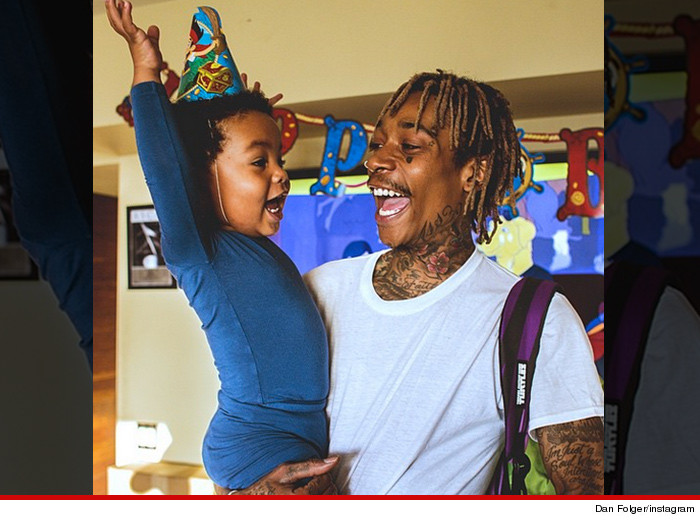 Wiz Khalifa Birthday Party