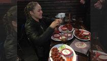 Ronda Rousey -- Winner Winner ... ANOTHER Chicken Dinner