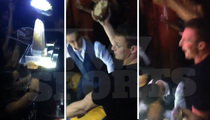 Rob Gronkowski -- Smashes Football Cake On Bro's Head ... At Epic Vegas Party!!