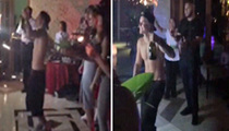 Justin Bieber -- Poppin' Bottles For 21st Birthday