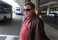 William Shatner -- Jets Back to L.A ... M