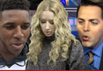 Nick Young -- Threatens ESPN Rep