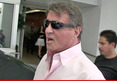 Sylvester Stallone -- Busts Up Brawl on the Set of 'Creed'