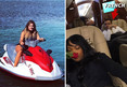 Khloe Kardashian -- Wet and Wooed By French Montana on Vacation