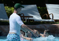 Peyton Manning -- T-Shirts in the Pool ... Ain't Just for Fat Guy