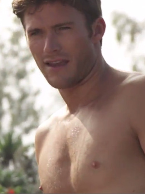 """Shirtless Scott Eastwood Searches for """"Perfect Companion"""" In """"Bachelor"""" Spoof"""