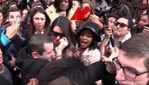 Kendall Jenner -- Nearly Trampled After Paris Fashion Show (VIDEO)