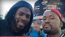 Richard Sherman -- Violinist's Business Explodes ... After Online Shout-Out