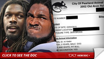 Jadeveon Clowney -- Bit By Teammate's Pit Bull ... Hospitalized