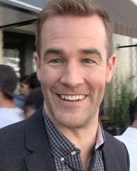 james van der beek crying