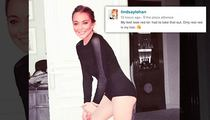 Lindsay Lohan -- Baby Got Back ... Courtesy of Photoshop (PHOTO)