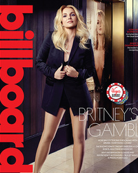 "Britney Spears Shows Serious Skin for Billboard, Says She's ""Slowly"" Working on New Album"