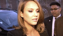 Jessica Alba -- Honestly, She's Blowing Out My Dreams ... Says Candlemaker