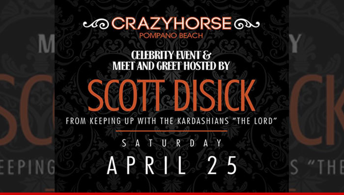 Scott Disick Strip Clubs