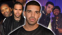 Drake -- So Emotional Over Chris Brown and His Movie (TMZ TV)