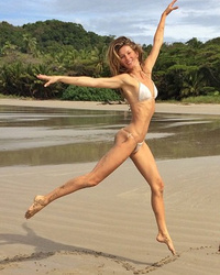 Gisele Bundchen Shows Off Insane Beach Bod in String Bikini