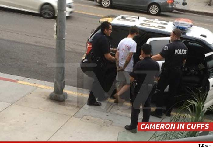 Vine star cameron dallas spent a lot more than six seconds in jail