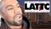 Kanye West -- Pied Piper of Designing Men Sparks Student Explosion