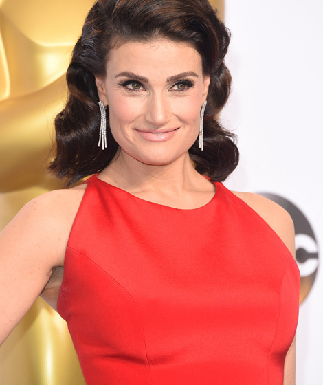 Idina Menzel Debuts Bright Blonde 'Do -- Like The Look ...