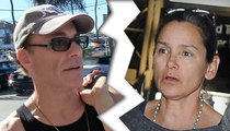 Jean-Claude Van Damme Divorce -- Expendables 5 ... The Wife Strikes Back
