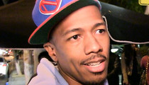 Nick Cannon -- Scoping Out New L.A. Man Cave