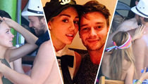 Patrick Schwarzenegger -- Spring Break with My Ex Is Cool ... Right, Miley? (TMZ TV)