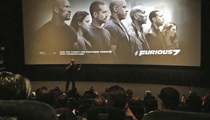 Vin Diesel Breaks Down Honoring Paul Walker at 'Furious 7' Screening (VIDEO)