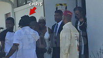 NFL's Chris Johnson -- Confronted at Funeral ... Family Divided