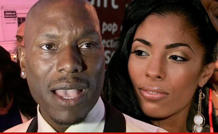 Tyrese Gibson And Wife...
