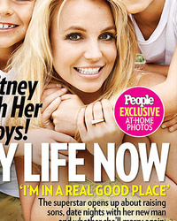 Britney Spears' Boys Look All Grown Up on Cover of People -- See How Big They Are!