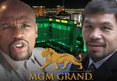 Mayweather vs. Pacquiao -- MGM Blocking Vegas Hotels from Showing Fight