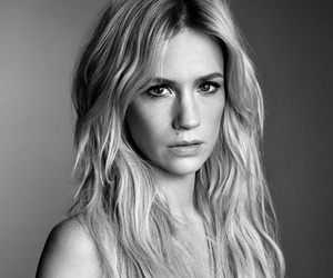 January Jones Goes Topless for The Vio