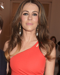 """Elizabeth Hurley Brings Adorable Son Damian to """"The Royals"""" Premiere -- See the Pics!"""