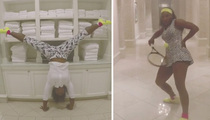 Serena Williams -- Twerkin' Like Beyonce ... In Hilarious New Video