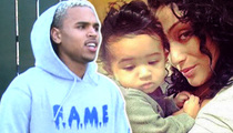 Chris Brown -- Reporting for Daddy Duty (TMZ TV)
