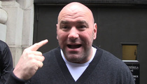 UFC's Dana White -- Brock Lesnar Has My Blessing ... WWE Was the Right Move