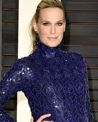 Molly Sims Welcomes Daughter Scarlett May -- See First Pic of Her Baby Girl!
