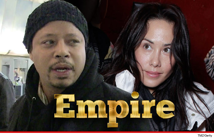 Terrence Howard Ex Wife Empire Salary